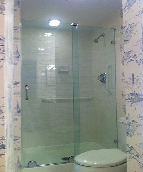 Bypass Sliding Shower Doors Modern Glass Designs
