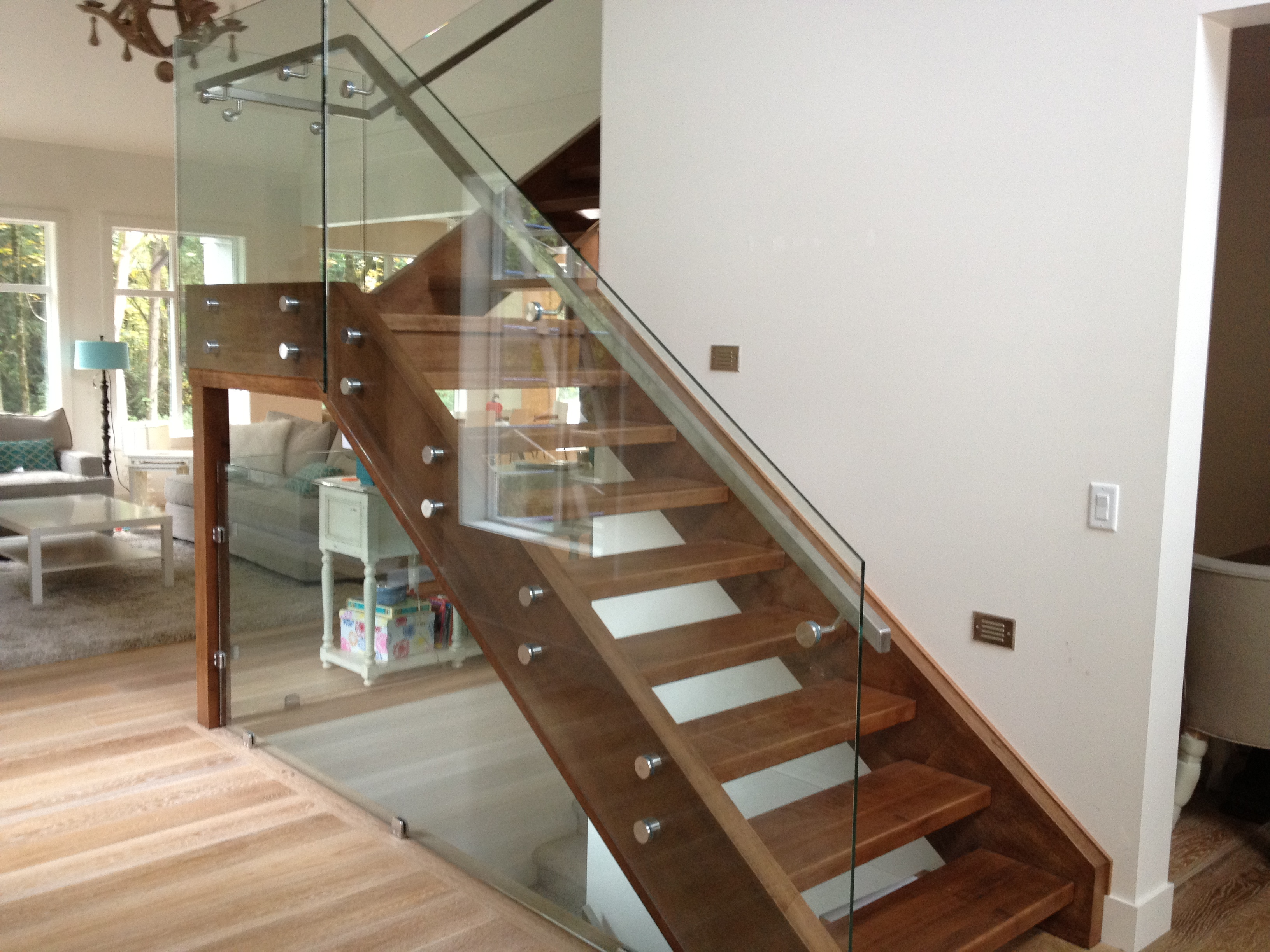 glass railing gallery modern glass designs