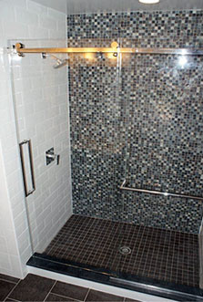 Frameless Sliding Shower Doors frameless sliding shower doors | modern glass designs