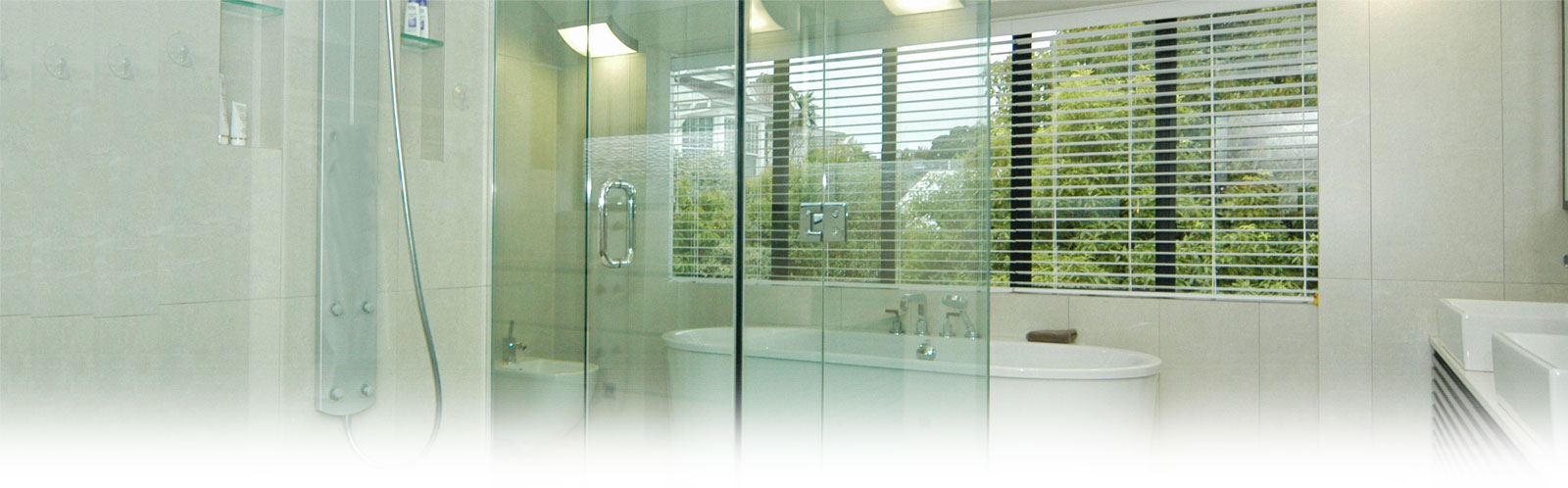 Frameless Glass Shower Doors - Custom Glass Railings - Glass ...