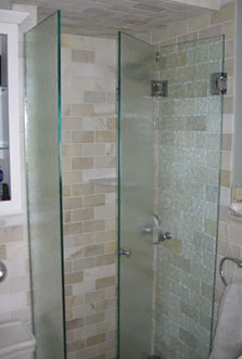 Features Of A Frameless Shower Door Modern Glass Designs